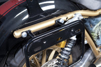 FXR Saddlebag Mount with Strut Eliminator Kit by Grim Parts Co