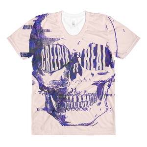 Creepin It Real Skull Women's Tee
