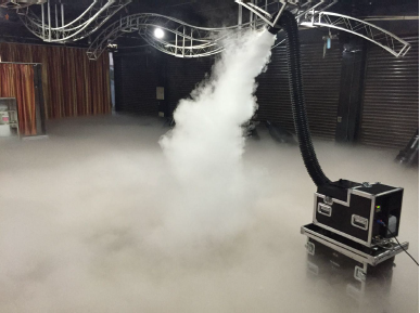 MLB DFW-X3 Low Fog Machine