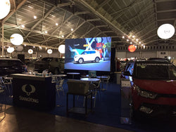LED Wall For Car Show @ Expo Hall