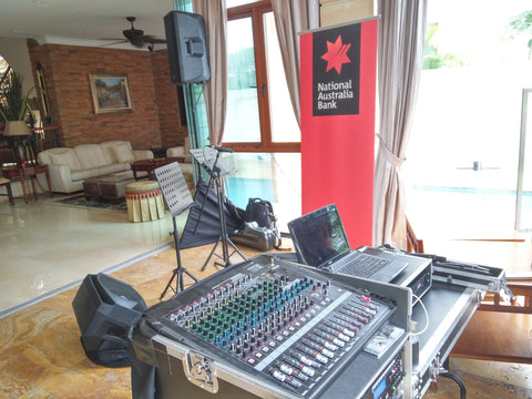 Professional Audio System @ Sentosa Cove