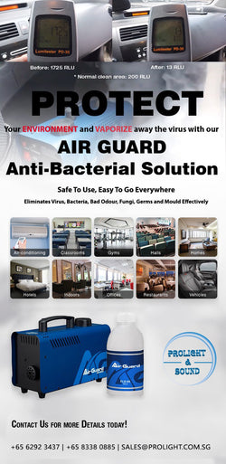 MLB Air Guard AG-800 Anti Bacteria Solution