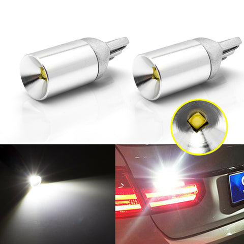 T10 W5W 194 LED Bulb 6000K White Extreme Bright Error Free for Euro Car Backup Parking Light
