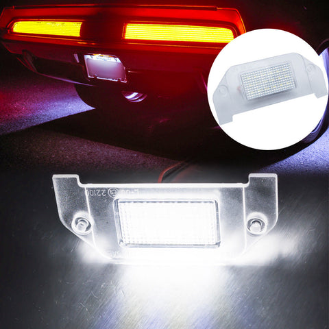 OEM Replacement LED License Plate Light for Dodge Charger Challenger - 18-SMD