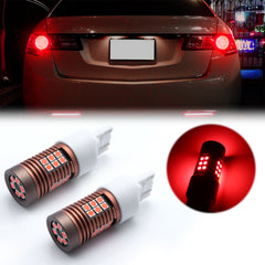 2x 30-SMD LED 7443 7440 7444NA Bulb for Brake Tail Stop Light Front Rear Turn Signal Lamp Parking Backup Reverse Light DRL Error Free