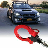 Sports Red/ Neon Track Racing Style CNC Aluminum Tow Hook For Scion FRS Subaru BRZ WRX 2012 and up