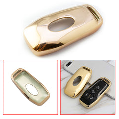 Silver Luxury 2 3 4 Buttons 3D Bling Smart keyless Entry Remote Key Fob case Cover for Mercedes-Benz E-Class S-Class W213 2016 2017 2018 2019 2020 Royalfox TM