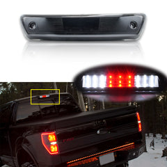 LED 3rd Third Brake Stop Light Rear Cargo Lamp for Ford F-150 2009-2014, Smoked Lens