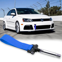 Blue / Black / Red JDM Style Tow Hole Adapter with Towing Strap for Volkswagen Jetta MK6 2011-2018