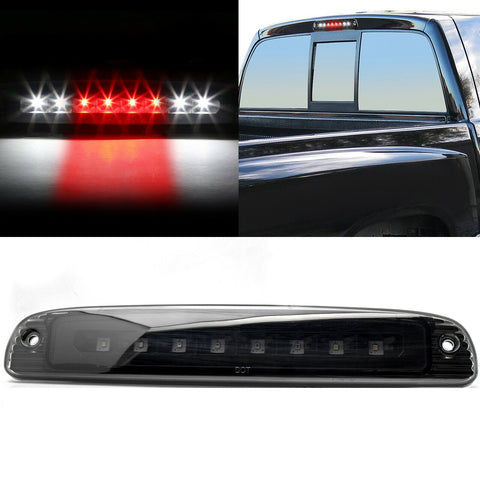 for Dodge Dakota 1997-2007 LED 3rd Third Brake Light Cargo Tail Lamp, Black Smoked Lens