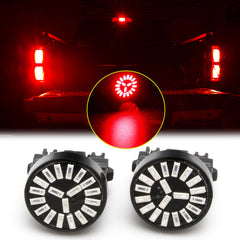 3157 3156 Red LED Brake Tail Stop Light Lamp Bulbs for Ford F-150 F150 2012 2013 2014 2015