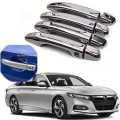 Chrome ABS Car Door Handle Cover Protector Decor Sticker Trim for Honda Accord 10th 2018
