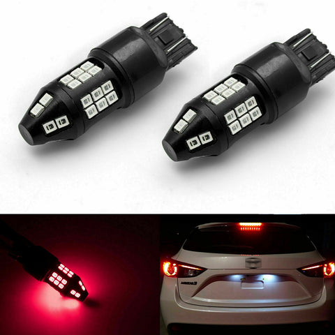 for Mazda 3 5 6 CX-5 CX-9 2008-2018 LED Strobe Flashing Brake Tail Stop Light, 40-SMD Extremely Bright