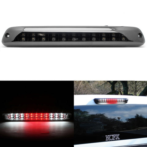 Smoked Lens LED 3rd Brake Light Assembly High Mont Stop Tail Lamp Bar for Chevy Colorado 2004-2012