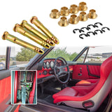 Heavy Duty Car Door Hinge Pins Pin Kit for Honda Civic Accord CR-V CRX CX DX EX SI EG6 B16