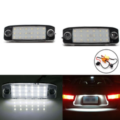 Xenon White 18-SMD LED License Plate Light Lamp Assembly Direct Fit for Hyundai Sonata i40 i45 2011-2014