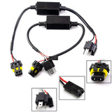 2pcs Easy Relay H4 9003 Hi/Lo Bi-Xenon HID Conversion Kit Wiring Harness
