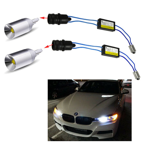 2x 6000K Xenon White CAN-Bus Error Free LED Light Bulb for BMW F30 3 Series 328i 335i Position Parking Light