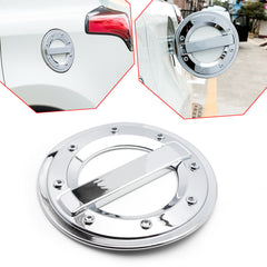 ABS Chrome Gas Tank Cap Cover Protector Oil Fuel Filler Cap Garnish Trim for Toyota RAV4 2013-2018