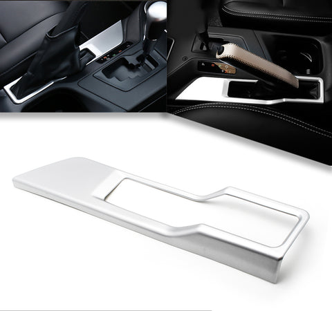 ABS Chrome Car Central Console Gear Panel Parking Hand Brake Frame Cover Trim for Toyota RAV4 2013-2018