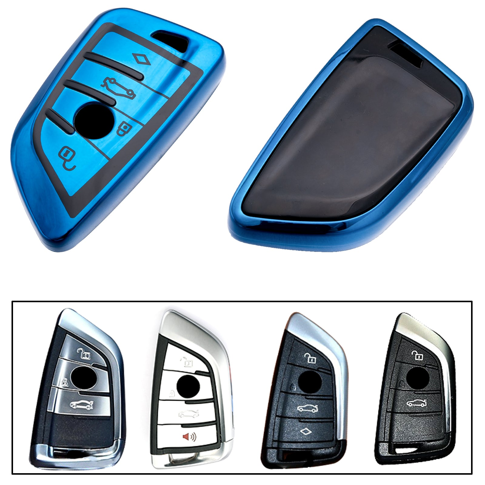 For Bmw Key Fob Cover