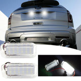 Xotic Tech 2pcs Error Free White LED License Plate Lights Lamps for Ford Explorer Escape Fusion MKC Fiesta