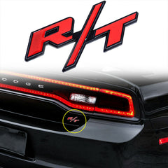 1 Piece RT R/T Badge Emblem Sticker for Mopar HEMI Cars Dodge Charger Chrysler Ram Jeep Mopar Team
