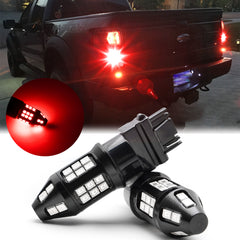 for Ford F150 F250 F350 LED Strobe Flashing Brake Tail Light Red
