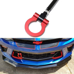 Aluminum Alloy Racing Sport Tow Hook Fit 2016+ Chevrolet Camaro 6 Generation Red/ Neon