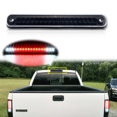 LED 3rd Brake Light High Mount Stop Tail Cargo Lamp Smoked Lens for Chevy C1500 K1500 Silverado 1988-1998