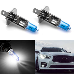 2pc H1 Fog Light Headlight High Beam Halogen Bulb Kit 6000K HID Xenon White Super Bright
