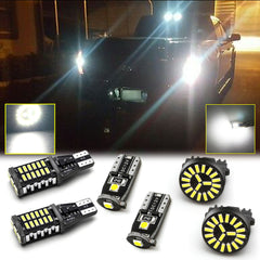 LED High Mount Cargo Light + Backup Reverse Light + License Plate Light Package Kit for Ford F-150 2015-2017, Extremely Bright 6000K Xenon White LED Tailgate Lamp Combo Set