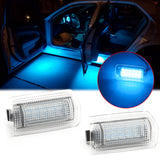 Blue Full LED Side Door Courtesy Light Assy Compatible With Lexus IS ES GS LS RX GX LX /for Toyota Avalon Sienna Venza Camry Prius 4Runner, OEM Replacement, Powered by 18-SMD LED