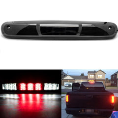 LED 3rd Brake Light Assembly, High Mount Stop Tail Cargo Lamp for Chevy Silverado 1500 2500HD 2007-2013