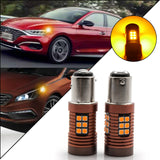 2x 30-SMD LED 1157 BAY15D Bulb for Brake Tail Stop Light Front Rear Turn Signal Lamp Parking Backup Reverse Light DRL Error Free