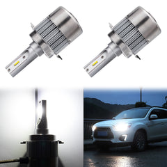2x 6000K White / 8000K Ice Blue H7 LED Fog Driving Light, 8400LM High Low Beam Headlight Conversion Kit Bulb Replacement
