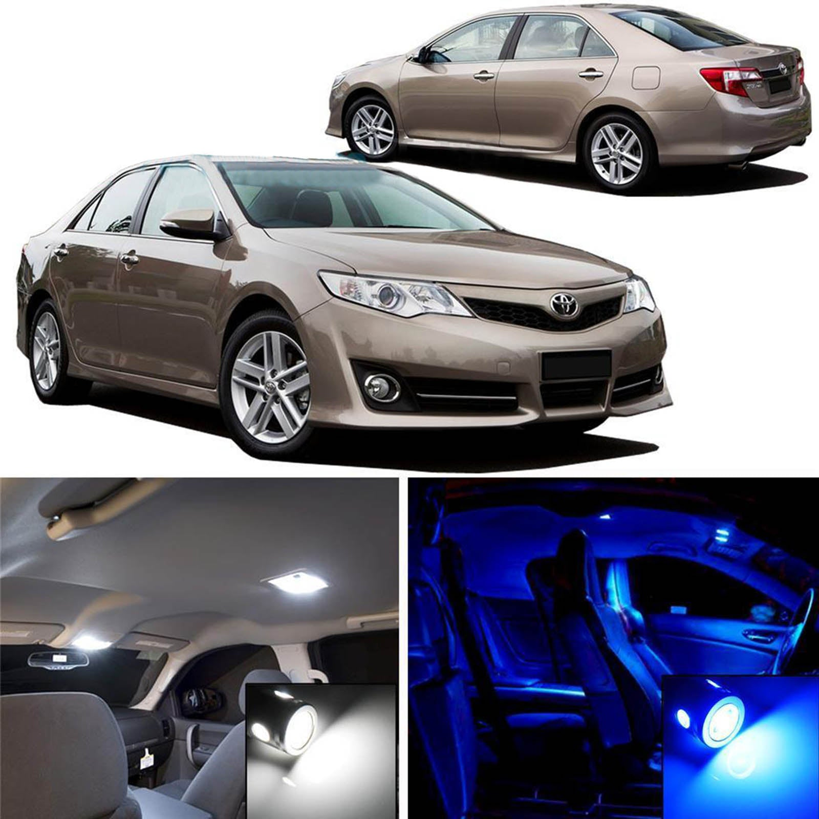 2012 camry led interior lights