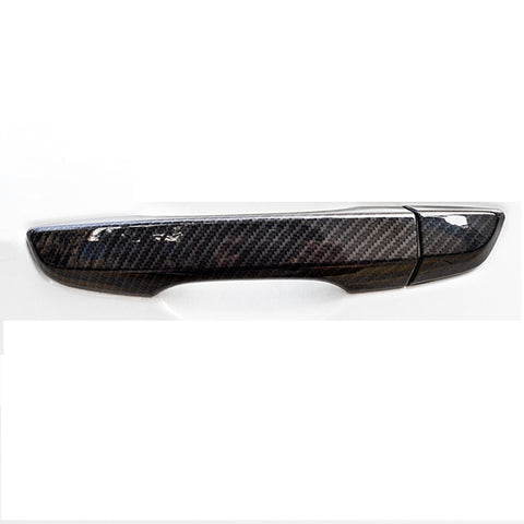 New Carbon Fiber Pattern Car Side Door Handle Cover Trim Guard for Honda CRV CR-V Civic 2012-2015
