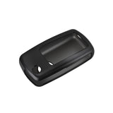 For Volkswagen Key Fob Cover, Soft TPU Key Holder Case Car Key Protector for VW Tiguan Touran Passat LaVida Sagitar Jetta Skoda Golf Polo Santana, Black