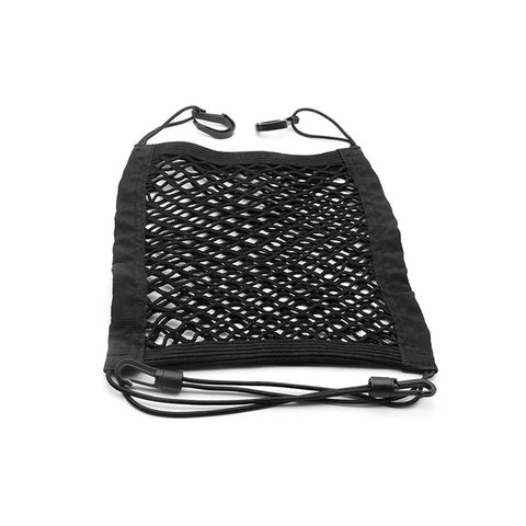 Car Seat Storage Mesh Organizer, Universal Car Seat Organizer Cargo Net Hook Pouch Holder for Purse Bag Phone Tissues, Dog Car Net Barrier, Pets Children Kids Disturb Stopper