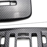 Sporty ABS Carbon Fiber Car Front Reading Light Lamp Cover Trim for Toyota Camry 2018-2019