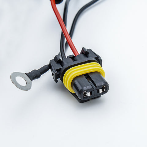9005 9006 9012 9145 Relay Wiring Harness Adapters for Fog Lights DRL, Heavy Duty 40A 12V Wiring Upgrade Kit