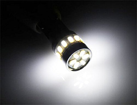 2PCS Xenon Bright White 18-SMD LED Bulbs 168 192 194 2825 3014 W5W T10 Wedge For Parking Position Light Bulbs