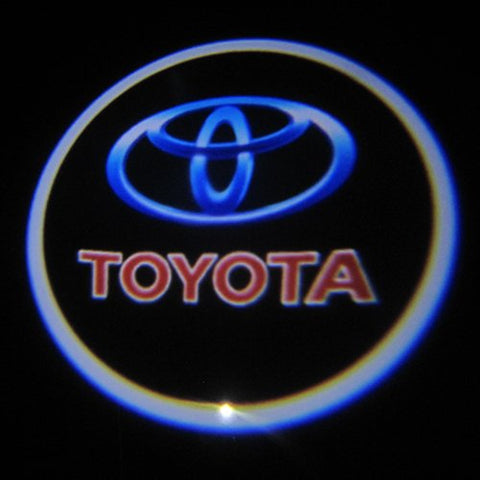 Toyota LED Logo Light Ghost Shadow Projector Car Door Courtesy Laser