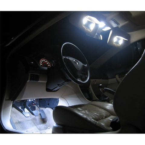 Super Bright White 8-SMD 6411 578 LED Bulb For Car Interior Dome Light or Trunk Area Light