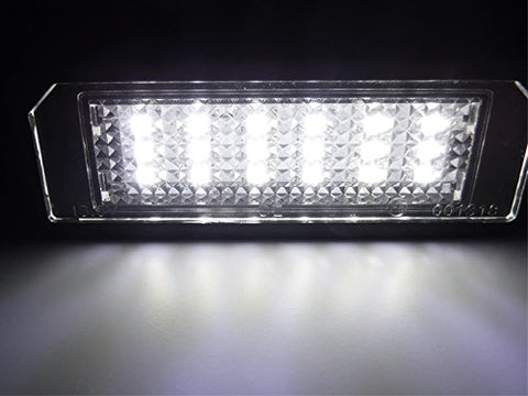 Error Free 18-SMD LED License Plate Lights For Volkswagen GTi Golf CC EOS Rabbit