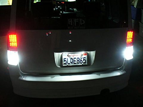 Exact Fit Xenon White LED License Plate Light Lamps For Toyota Sienna Corolla Scion 18-SMD