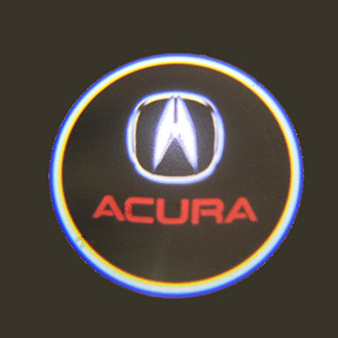 Acura LED Logo Light Ghost Shadow Projector Car Door Courtesy Laser