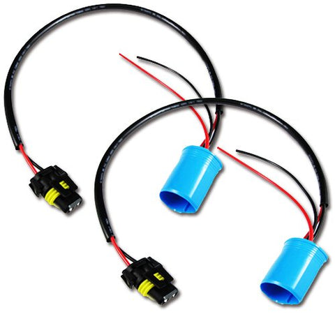 2x 9006 To 9007 Conversion Wires Adapters Headlight Retrofit / HID Kit Installation