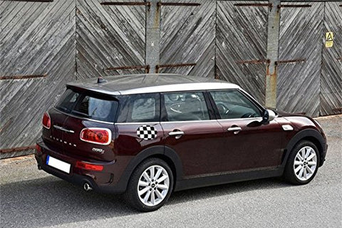 1x Mini Cooper Clubman F54 Gas Cap Cover 2016 2017 Sticker Decal (4 Style Union Flag Jack )